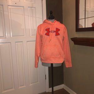 Orange Under Armour Hoodie